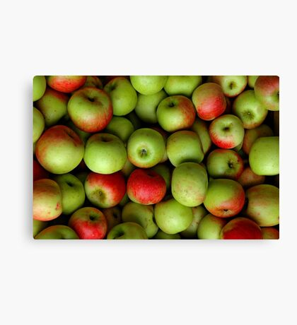 I'm Thinking Apple Pie Canvas Print