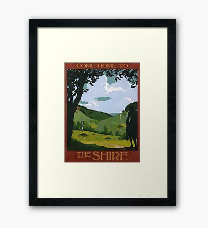 Come home Framed Print