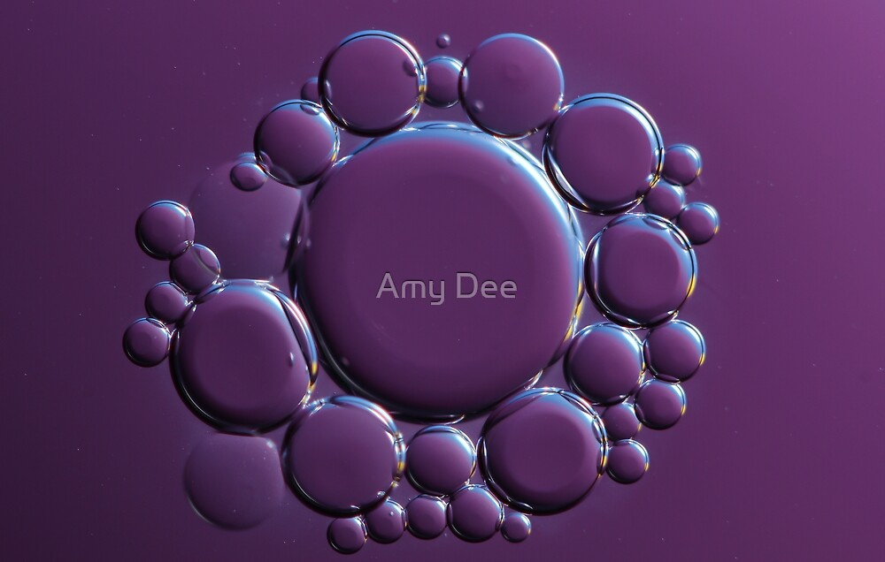 Oil Cells by Amy Dee