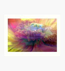 carnival of flower Art Print