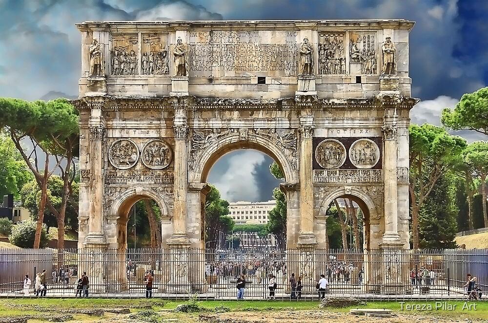 Arch of Constantine. Rome by terezadelpilar ~ art & architecture
