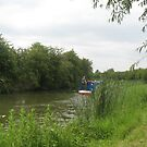 chugging along (Grand Union Canal June 2011) by fatchickengirl