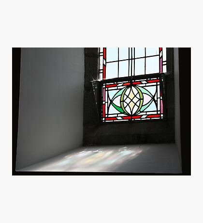 Arvagh Stained Glass Photographic Print