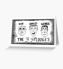 What is it about political dicks? Greeting Card