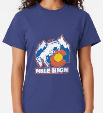 Mile High Bronco Classic T-Shirt