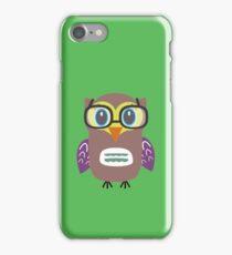 Nerdy owl  iPhone Case/Skin