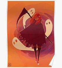 Reaper Girl in the Desert Poster