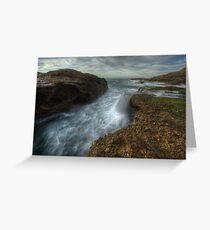 Channel Falls Greeting Card
