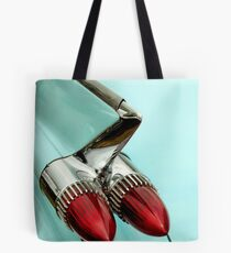 1959 Cadillac, Some Fin And Bullets Tote Bag