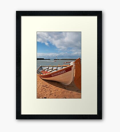 South Queensferry Skiff - Ferry Lass Framed Print