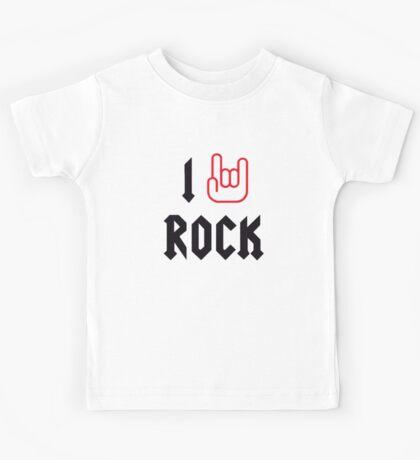 I Love Rock Kids Clothes