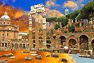 Temple of Venus Genetrix . Rome by terezadelpilar ~ art & architecture