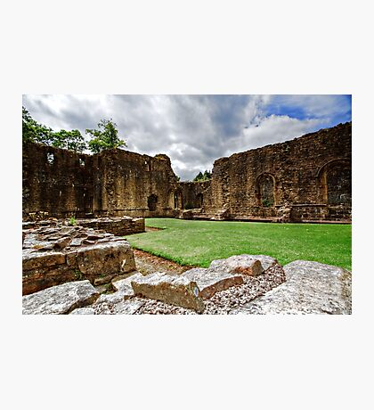 Whalley Abbey Ruins Photographic Print