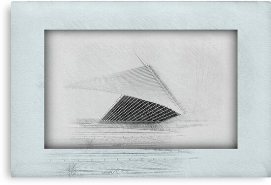 MAM...Milwaukee Art Museum ©  by Dawn Becker