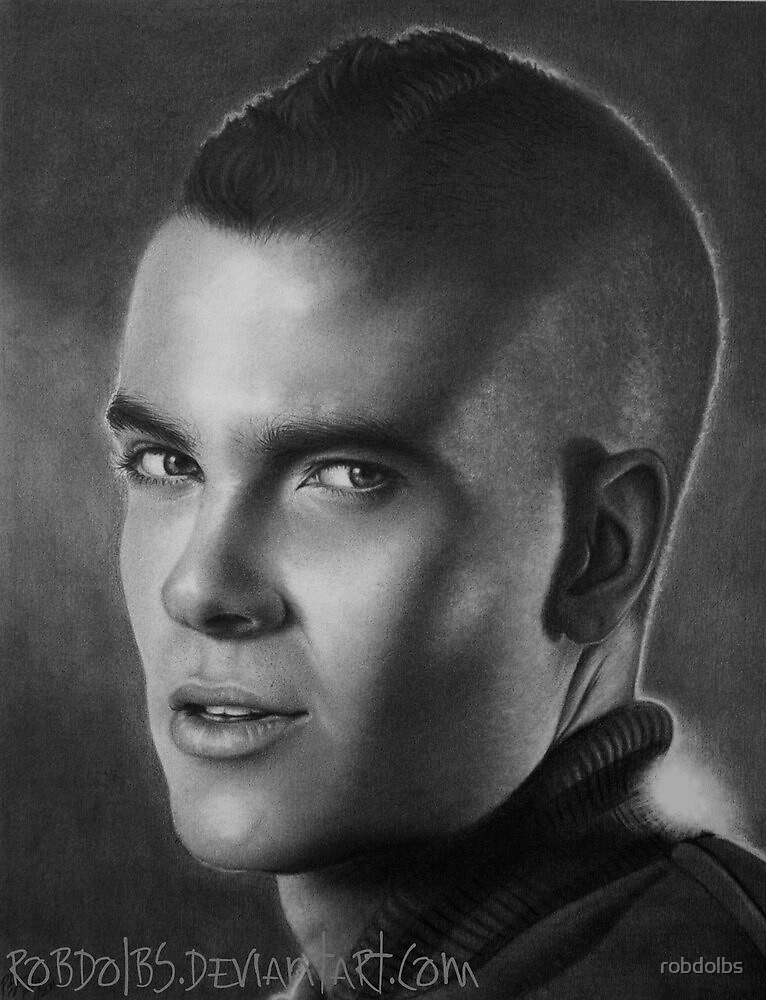 Mark Salling - Puck from Glee by robdolbs