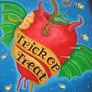 Trick or treat by Cat-Von-Art