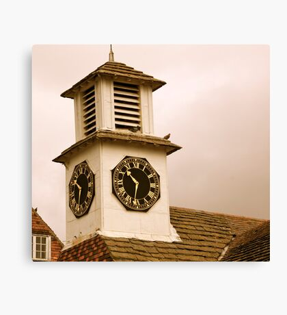 Old Clock Tower Canvas Print