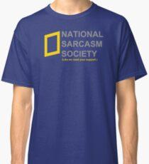 National Sarcasm Society Classic T-Shirt