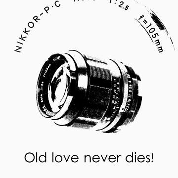 Nikkor 105mm Black Old love never dies! by BKSPicture