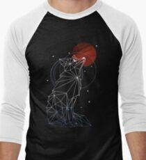 Fox in the Stars Men's Baseball ¾ T-Shirt
