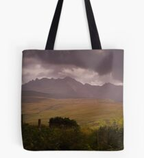 Storm over the Cuillins Tote Bag