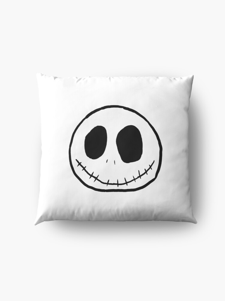 Alternate view of Jack skellington Floor Pillow