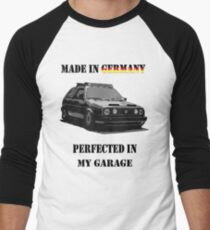 Made in Germany perfected in My Garage Men's Baseball ¾ T-Shirt