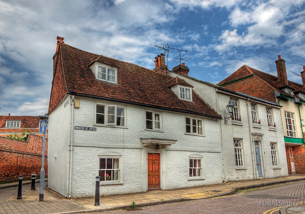 Little Minster Street- Winchester by NeilAlderney