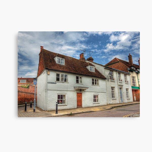 Little Minster Street- Winchester Canvas Print