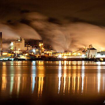 Tacoma Pulp Mill  by DiamondCactus