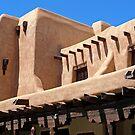 Adobe Building, Detail 3, Santa Fe, New Mexico by VoxOrpheus