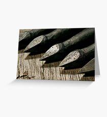 Bodkin Arrowheads Greeting Card