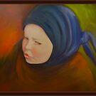 Little Menonite Girl Dress In Dark by Noel78