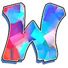 Letter W - Color Mix by paintcave