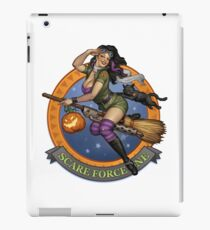Scare Force One iPad Case/Skin