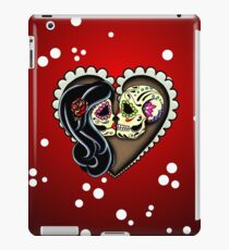 Ashes - Day of the Dead Couple - Sugar Skull Lovers iPad Case/Skin