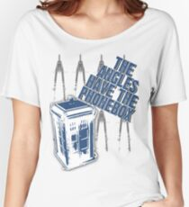 The Angles Have The Phonebox Women's Relaxed Fit T-Shirt