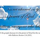 I am not ashamed of the gospel by Catherine Davis