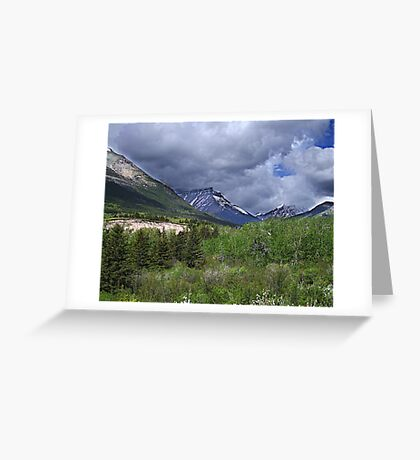Red Rock Canyon Wilderness Greeting Card