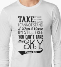 Firefly Theme song quote Long Sleeve T-Shirt