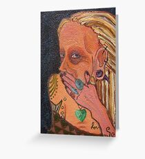 Raunchy painting mixed media greeting cards redbubble feeling raunchy greeting card m4hsunfo