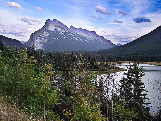 Mt. Rundle by George Cousins
