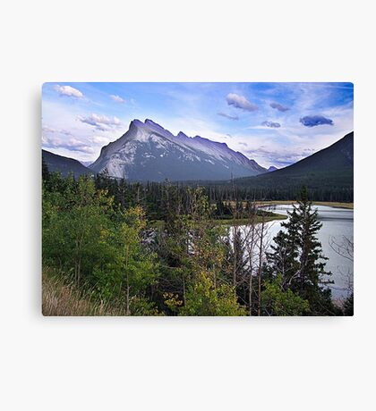 Mt. Rundle Canvas Print