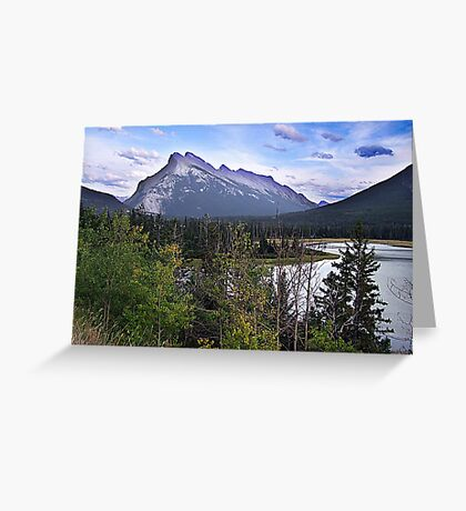 Mt. Rundle Greeting Card