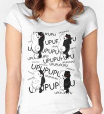 Monokuma Mosaic Women's Fitted Scoop T-Shirt