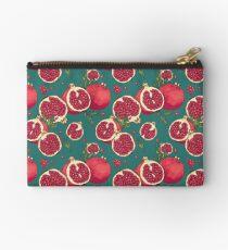Juicy pomegranate fruits Zipper Pouch