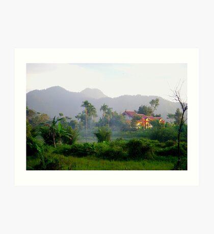 Rural Bogor, Indonesia Art Print