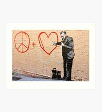 Banksy - Doctor Love - San Francisco, CA 2010 Art Print