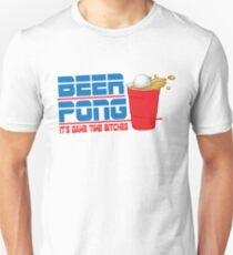 Funny Shirt - Beer Pong  Unisex T-Shirt