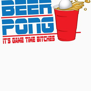 Funny Shirt - Beer Pong  by MrFunnyShirt